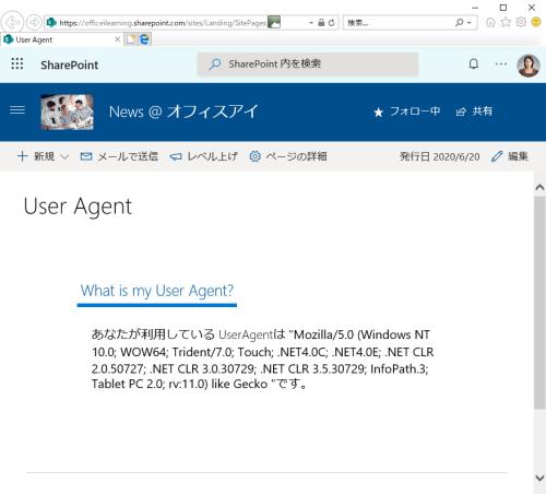 UserAgent-IE